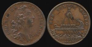 ^^RARE^^ 1755 FRENCH COLONIES COPPER JETON BRETON 515 (Nice !!) >> NO RESERVE