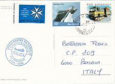 Italy - antarctic  postcard  from 19° expedition 2003-2004
