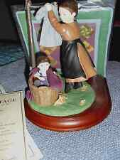 #30026 Figurine With Quilt - The Amish Heritage Collection - 1993