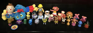 CBEEBIES CHILDRENS TV PROGRAMMES BUNDLE OF TOY FIGURES TOYS FINGER PUPPETS L@@K