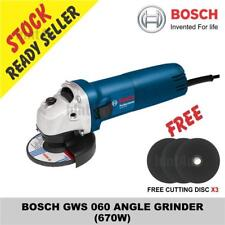 (OFFER) BOSCH GWS 060 ANGLE GRINDER free cutting disc x3