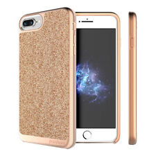 """Prodigee Sparkle Rose Pink iPhone 7 PLUS 5.5"""" Glitter Dazzling Slim Case Cover"""