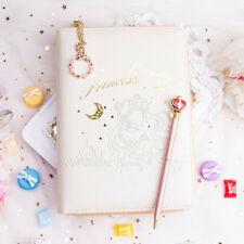 Sailor Moon Princess Serenity PU Case Notebook Diary Planner Schedule Book Gift