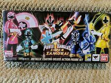 S.H.Figuarts Power Rangers Super Samurai Metallic Deluxe Figure Set SDCC 2013