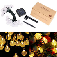 Solar Motion Sensor LED String Light Outdoor Tree Garden Party Fairy Decor Lamp