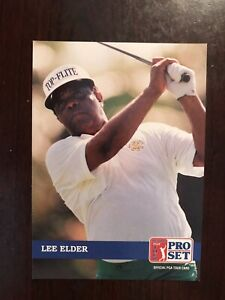1992 Pro Set Golf #237 - Lee Elder