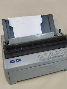 Epson lq 590 Dot Matrix printer used usb P363A