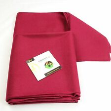 Hainsworth CLUB Bed & Cushion Set for 7ft UK Pool Table – MAROON - FREE DVD