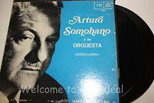 """Arturo Somohano y Su Orquesta Musical Ligera  2x LP (G) 12"""""""