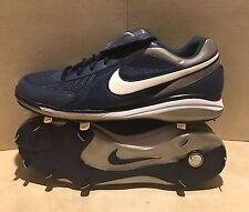 Nike Air Zoom Cooperstown V Baseball Cleat Shoe 333777-411 Men Size 15 Dark Blue