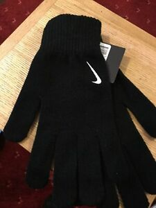 Nike Swoosh Knitted Gloves Adult L / XL NEW Cold weather  R.R.P £10.99 mams B17