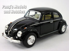 Volkswagen - VW - 1967 Classic Beetle 1/32 Scale Diecast Metal Model - BLACK