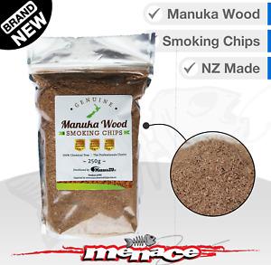 Manuka Smoker Wood Chips - Genuine NZ BBQ Smoking Sawdust - Hot Cold Shavings