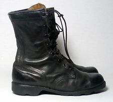 Post Nam Military Issue Police Security Infantry Soft Toe Leather Boots Men 8W