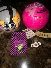 Lol Surprise Big Sis Athletic Club Spike Series 3 Confetti Pop # 017 ��