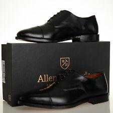 Allen Edmonds Exchange Place Black Leather Cap Toe Oxford - Mens 11 E