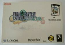 Pal version Nintendo GameCube pack final Fantasy Crystal Chronicles