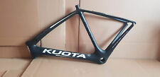 Kuota K-UNO Road Bike Carbon Frame Size L Color Black/White NEW