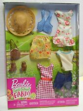 Barbie Sweet Orchard Farm Doll Clothes, New in Package