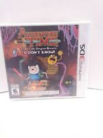 Adventure Time: Explore the Dungeon Because I Don't Know Nintendo 3DS, 2013 NEW