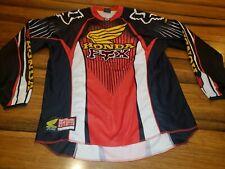 Honda Fox Racing Jersey: Lg Motocross MX Pro Team Issue