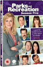 Parks and Recreation Complete Series 5 DVD 5th Fifth Season Five UK Release R2