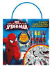 Ultimate Spiderman Bumper Carry Along Colouring Set Travel Activity Kids
