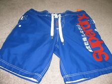 SUPERDRY MENS NETTED SHORTS SIZE 38 WAIST