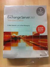 Microsoft Exchange Server 2007 Standard inkl. 5 Cal, Deutsch in MwSt Rechnung