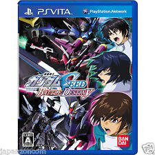 Used PS Vita Mobile Suit Gundam Seed Battle  SONY PLAYSTATION JAPANESE IMPORT