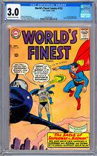 WORLD'S FINEST #153 CGC 3.0 *INFAMOUS BATMAN-SLAPS-ROBIN PANEL* CURT SWAN 1965