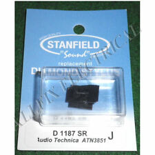 Audio Technica ATN3581 Compatible Turntable Stylus. Stanfield Part # D1187SR