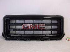 OEM 2014 2015 GMC SIERRA 1500 FRONT GRILLE 23255958 BLACK