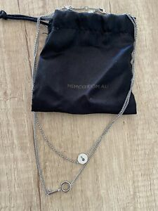Mimco Key Chain Duo Necklace