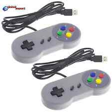 2 Super Nintendo Snes Famicom RETRO GAMEPAD JOYPAD PC Controller Raspberry USB