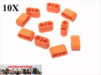 10X Lego® 74695 / 60483 Technic Liftarme Beams 1X2 Orange NEU
