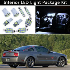 5PCS Bulbs White LED Interior Lights Package kit Fit 2005-2009 Ford Mustang J1