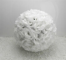 (15-30)CM Artificial Rose Flower Kissing Ball Wedding Party Home Decoration