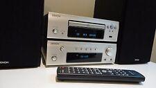Denon DRA-F107DAB Hi Fi Component System Amp CD Tuner Speakers USB iPod Control