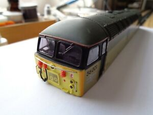 Mainline Class 56 001 in Construction Sector Livery with Glazing