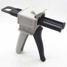 50ML AB Epoxy Sealant Silicone Glue Gun Applicator Gun Squeeze Tools 1:1 & 2:1