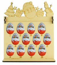 Kinder Eggs Holder 12 Days of Christmas Advent Calendar with Christmas Shapes