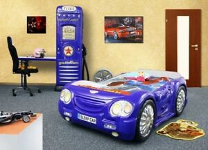 Bed Kid's Bed Sports Car Bed Child Teen Bed Sleep Car IN Stock
