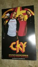 CKY-INFILTRATE-DESTROY-REBUILD-1 POSTER-2 SIDED-11X17INCHES-NMINT