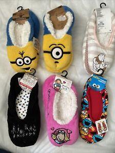 Primark Minion Friends Winnie Groovy Chic Sesame St Footlet BNWT