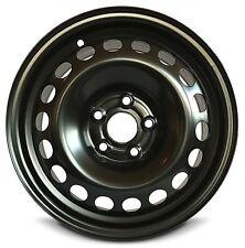 "New (12-16) Chevrolet Sonic 15""x6"" 5 Lug Black Replacement Steel Wheel Rim 5x105"