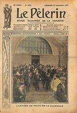 Puits des mines de La Clarence Calonne-Ricouart Pas-de-Calais 1912 ILLUSTRATION