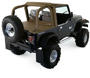 Rampage for 1997-2002 Jeep Wrangler(TJ) Roll Bar Pad & Cover Kit - Black Den