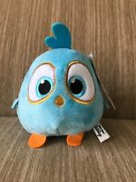 """6"""" Angry Birds Hatchlings Baby Blue Plush Toy Factory Big Stuffed Animal Movie"""