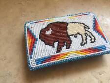 Native American Beadwork wallet Shoshone Bannock tribal regalia pow wow